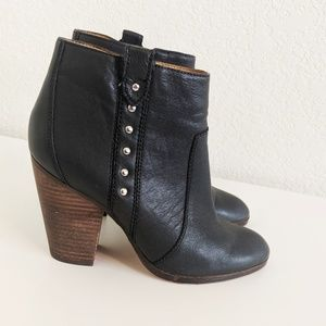 Coach Black Booties Haven Ankle Boots